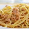 Linguine o Spaghetti al Tonno e Limone (Linguine or Spaghetti with Tuna and Lemon)