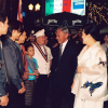 Her Majesty Queen Sirikit Visit to Piccola Roma Palace on Thursday February 3rd, 2000
