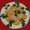 Risotto With Shrimp, Gorgonzola and Orange